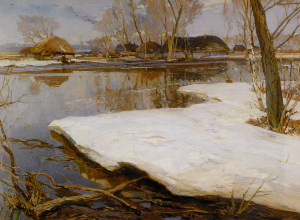 Early Spring by Konstantin Alexandrovich Westchilov