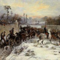Engagement near St Cloud by James Alexander Walker
