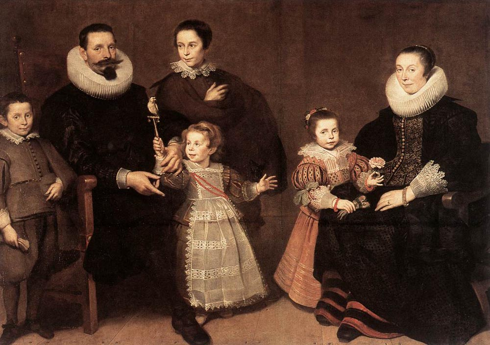 Family Portrait by Cornelis De Vos