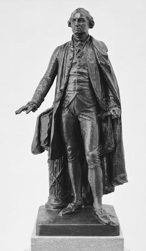 George Washington by John Quincy Adams Ward