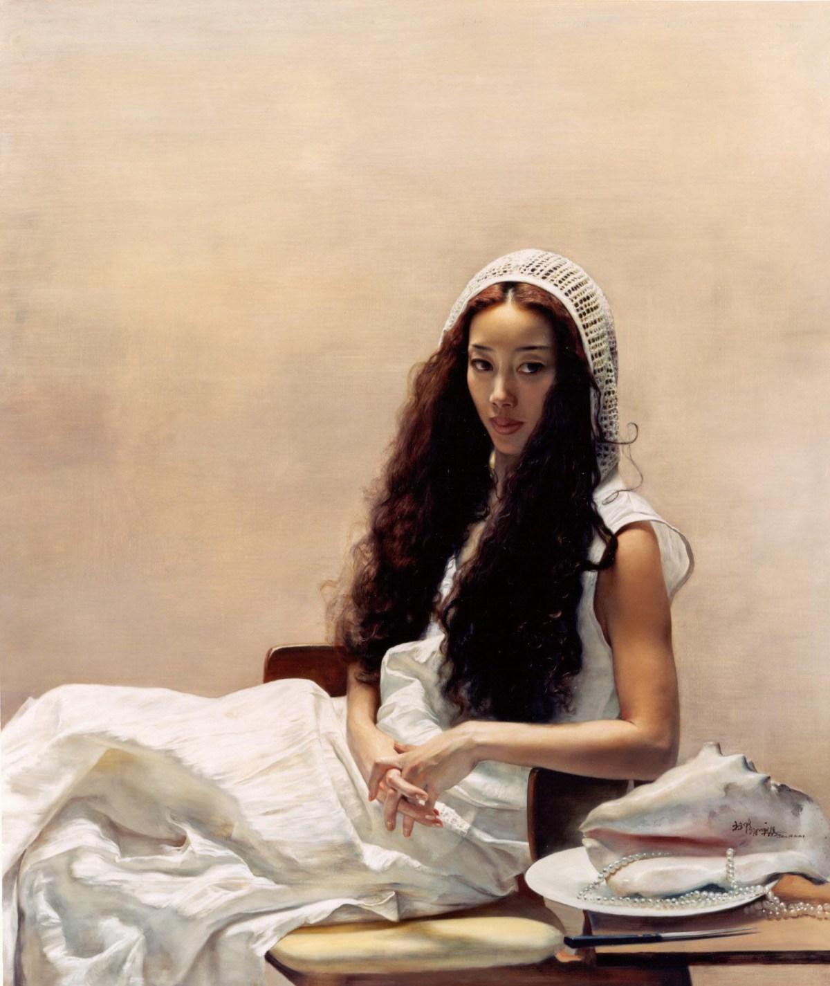 Girl in Summer by Yuqi Wang