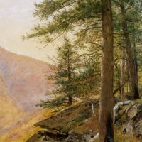 Hemlocl in the Catskills by Thomas Worthington Whittredge