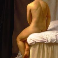 Homage To Ingres: La Baigneuse Valpinson by Patricia Watwood