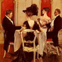 Idle Conversation by Albert B. Wenzell