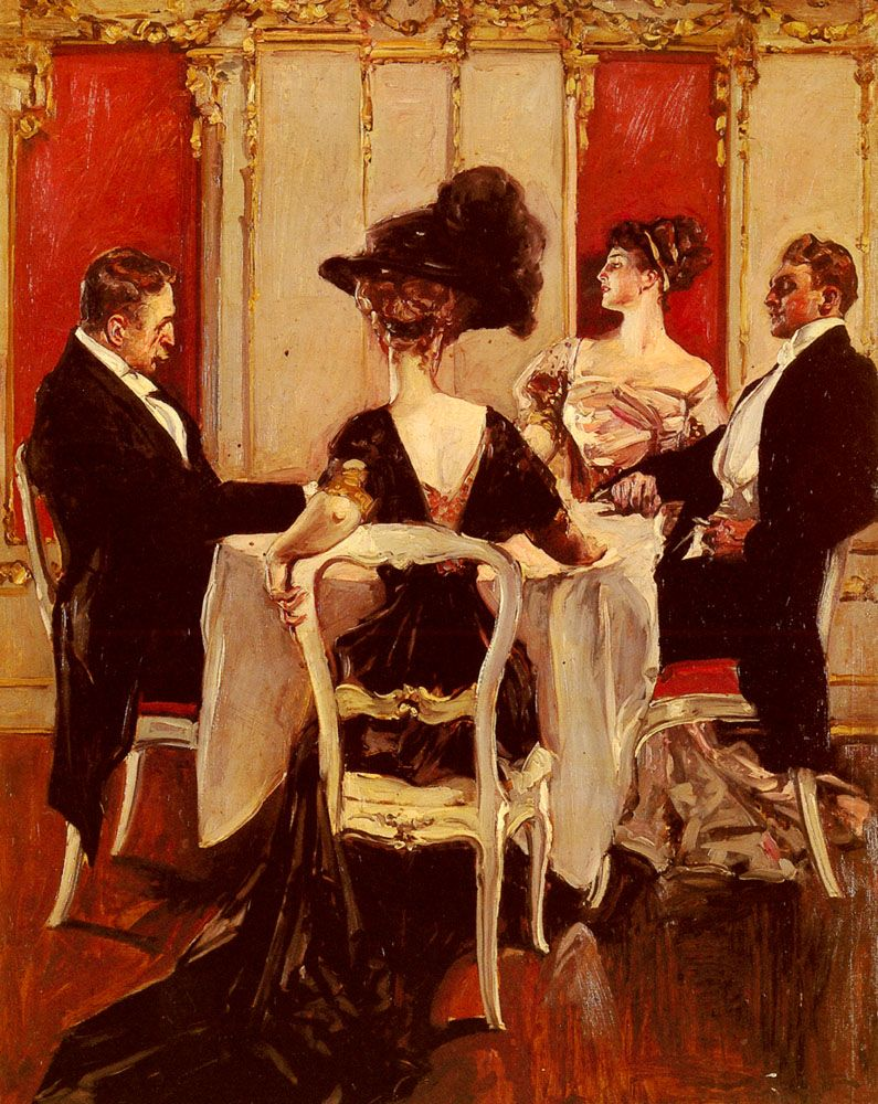 Idle Conversation by Albert B Wenzell