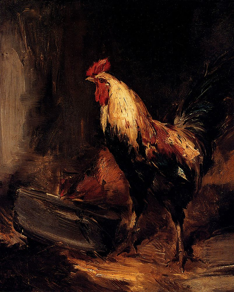 In The Roost by Antoine Vollon