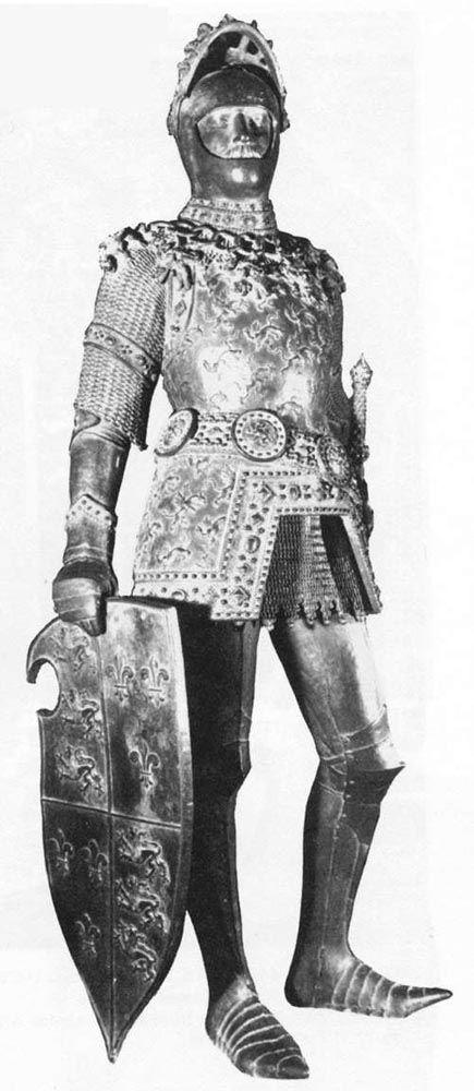 King Arthur by Peter Vischer the Elder