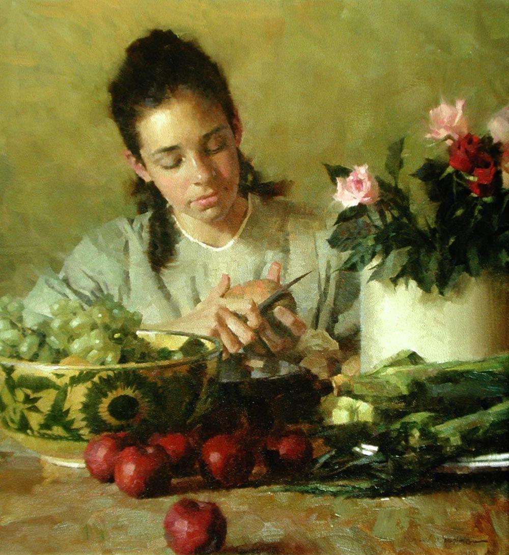 Kitchen Duty by Morgan Weistling