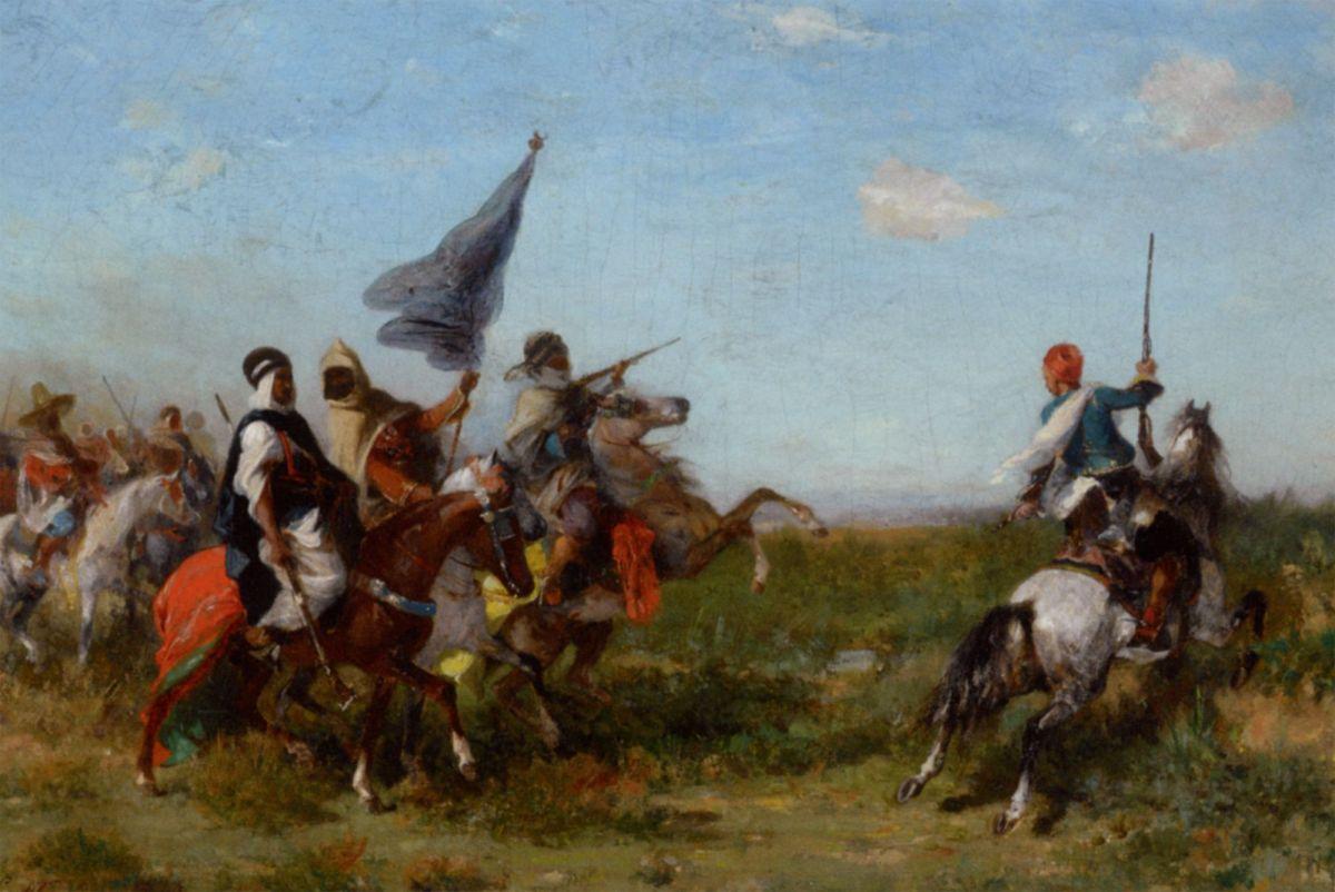 La Charge by Georges Washington