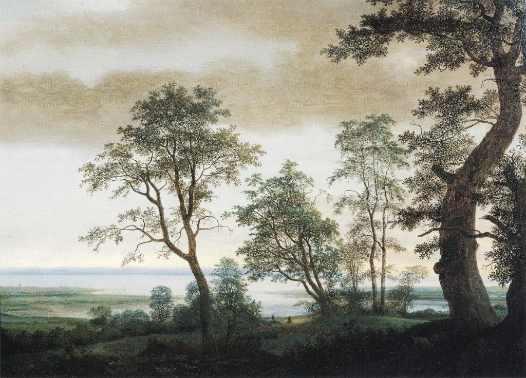 Landscape with Estuary by Cornelis Vroom the younger