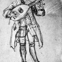 Lute Player by Pietro Longhi
