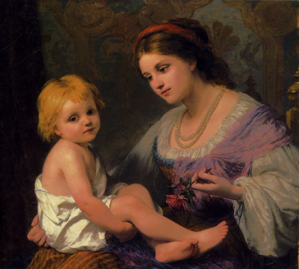 Maternal Affection by Thomas Webster