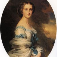 Melanie de Bussiere, Comtesse Edmond de Pourtales by Franz Xavier Winterhalter