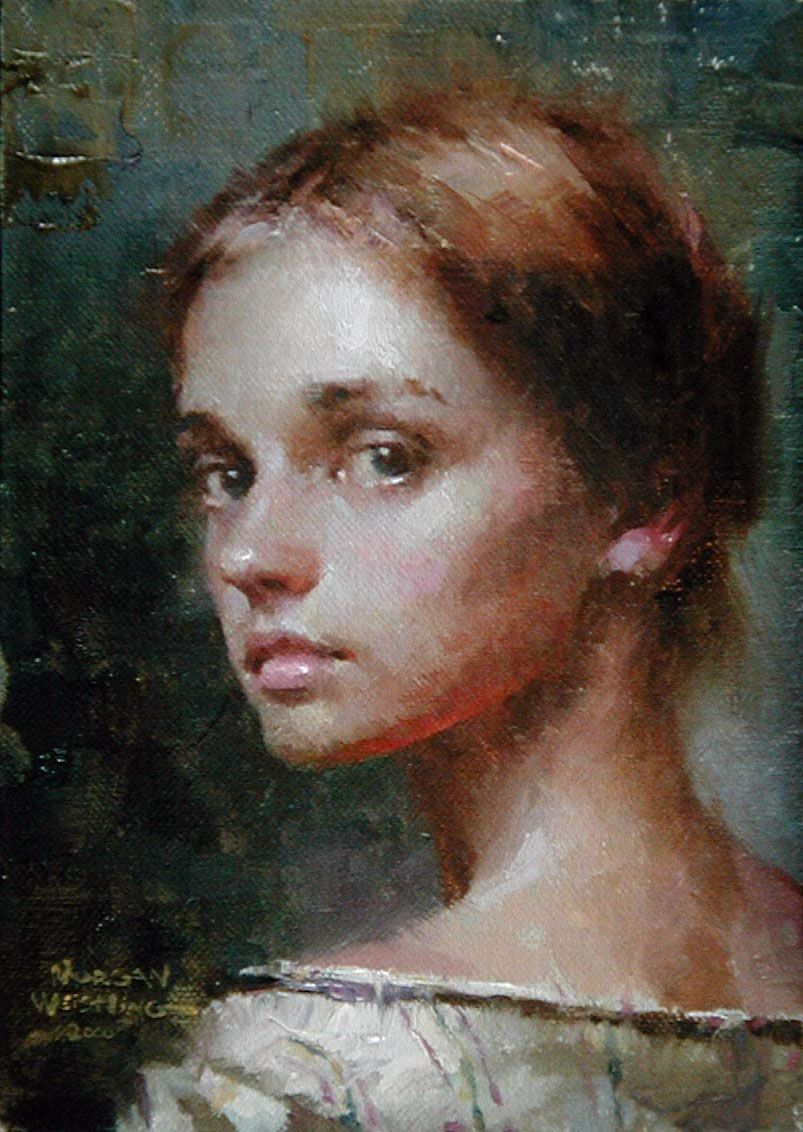 Momentary Glance by Morgan Weistling