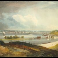 New York from the Heights near Brooklyn by William Guy Wall