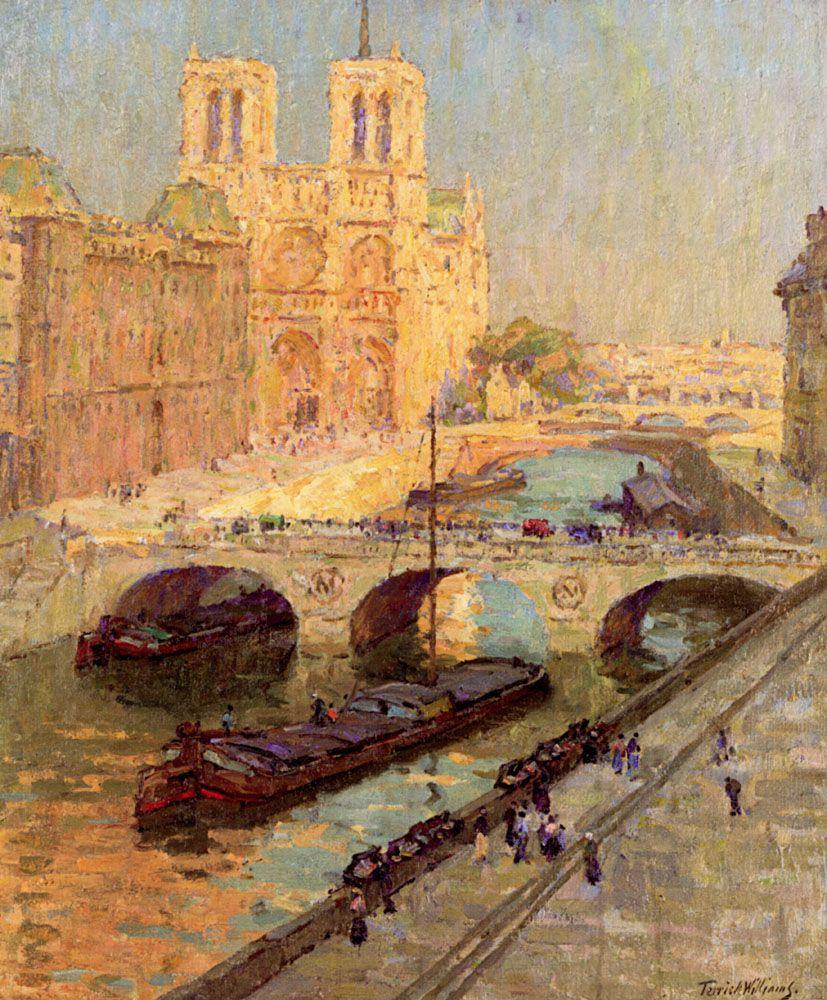 Notre Dame Paris by Terrick Williams