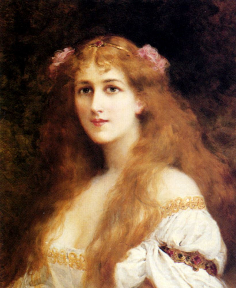 Ophelia by Francis Edouard Zier