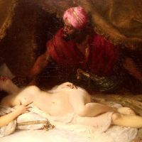 Othello And Desdemona by Adolphe Weisz