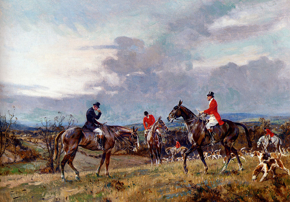 Out Hunting by Gilbert Scott Wright