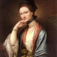 Portrait of Ann Barbara Hill Medlycott (1720-1800) by Benjamin West