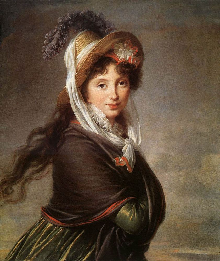 Portrait of a Young Woman by Elisabeth Louise Vigee Le Brun