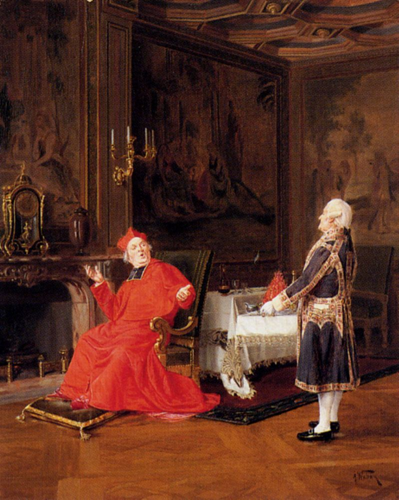 Prawns For The Cardinal by Alfred Charles Weber