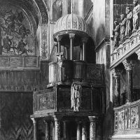 Pulpit in Saint Mark's, Venice by George Henry Yewell