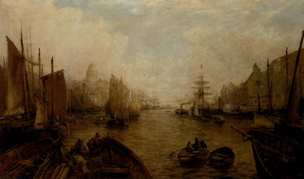 Shipping on the Thames by William Edward Webb