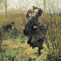 Spring by Frederick Walker