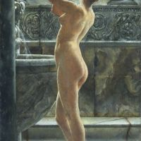 The Bath by John Reinhard Weguelin