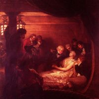 The Death Of Nelson by Benjamin West