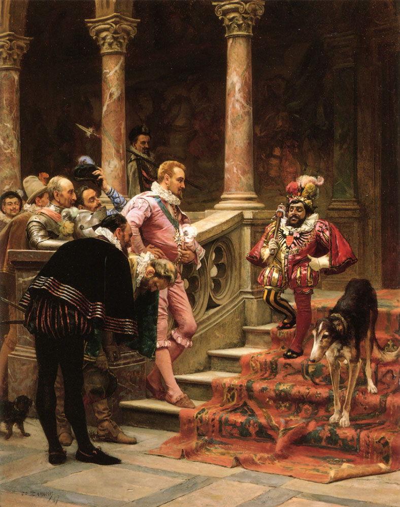 The Favourite Of The King by Eduardo Zamacois y Zabala