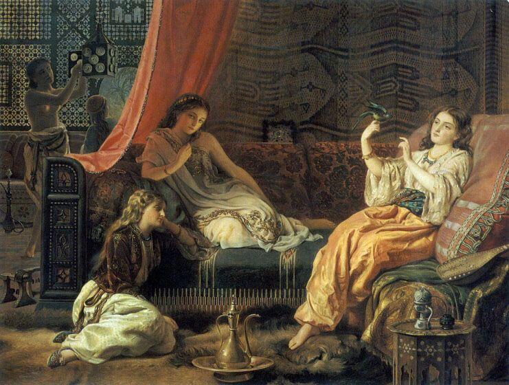 The Harem by Francis John Wyburd