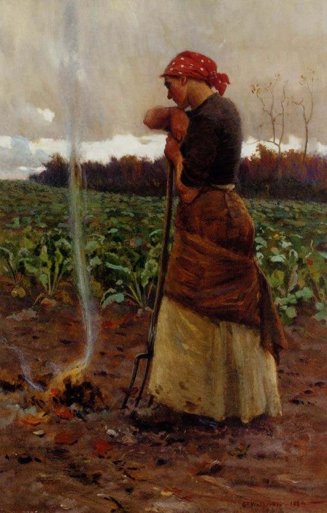 The Harvest Is Past The Summer Is Ended by George Faulkner Wetherbee