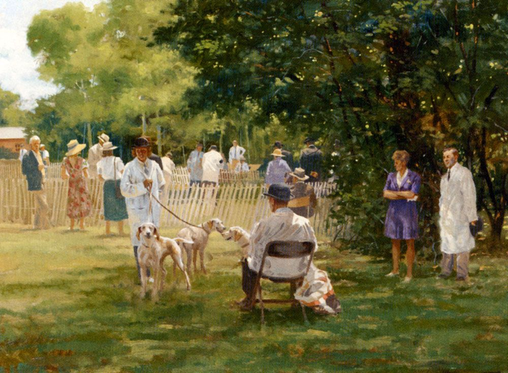 The Morven Hall Hound Show by Larry Wheeler