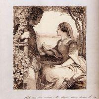 The Princess, Tennyson  Ask Me No More by John Dawson Watson