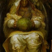The Recording Angel by George Frederick Watts