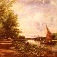 The Riverbank by Frederick Waters Watts