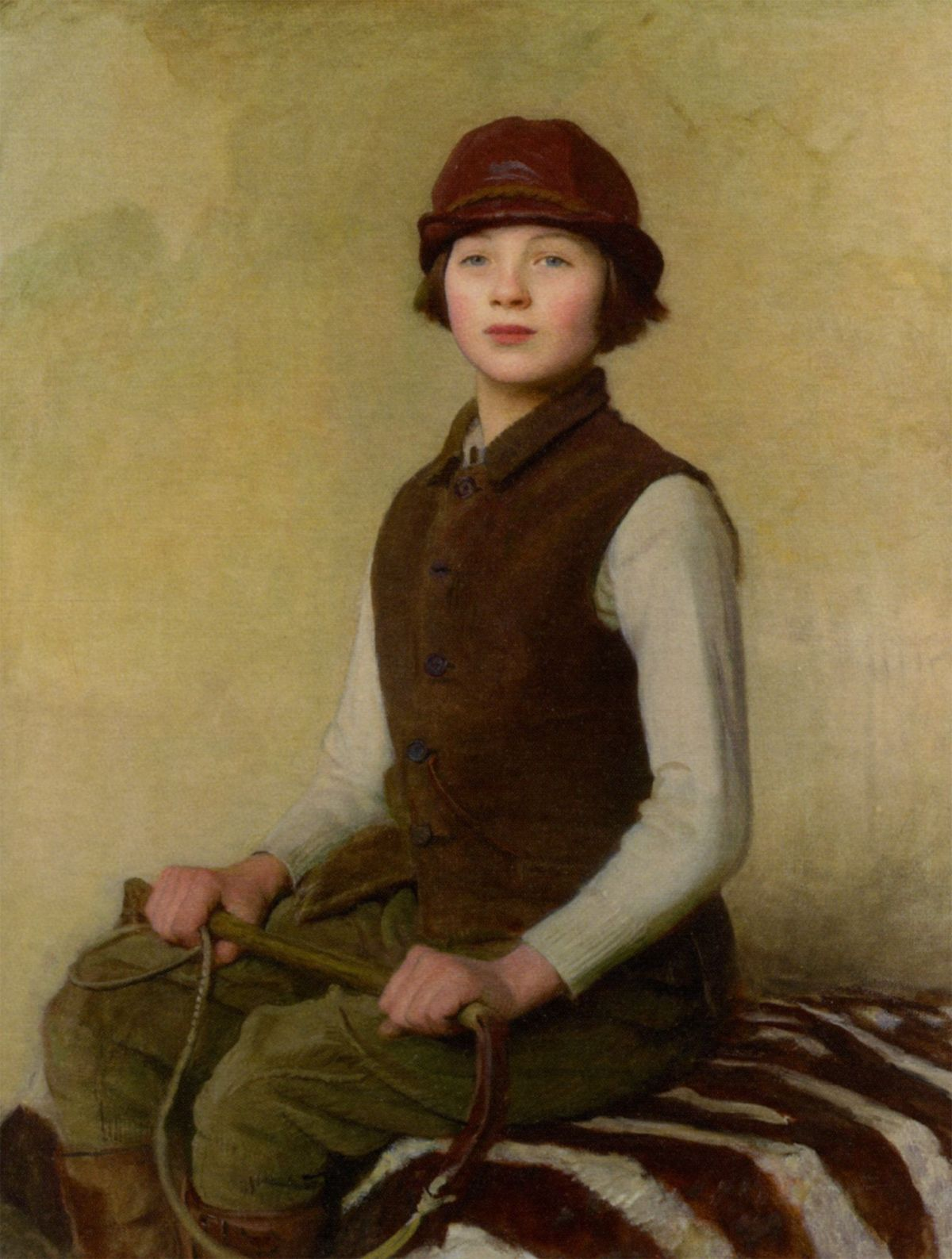 The Saddlers Daughter by George Spencer Watson