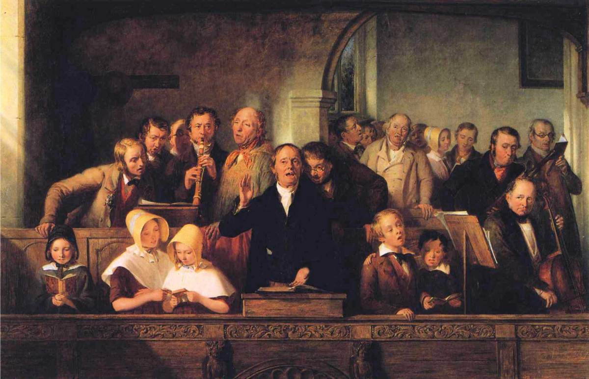 The Village Choir by Thomas Webster