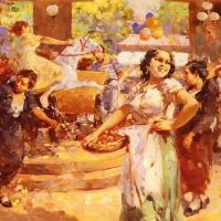 The Village Fair by Vincenzo Irolli