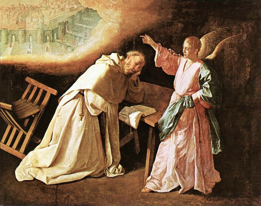 The Vision of St Peter of Nolasco by Francisco de Zurbaran