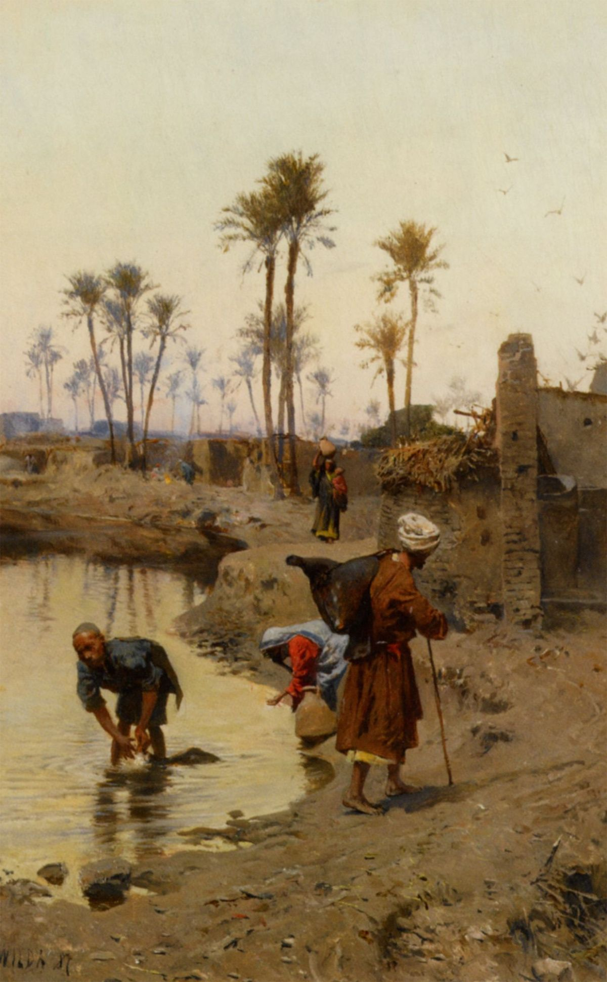The Watercarriers by Charles Wilda