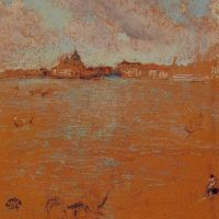 Venetian Scene by James Abbott McNeill Whistler