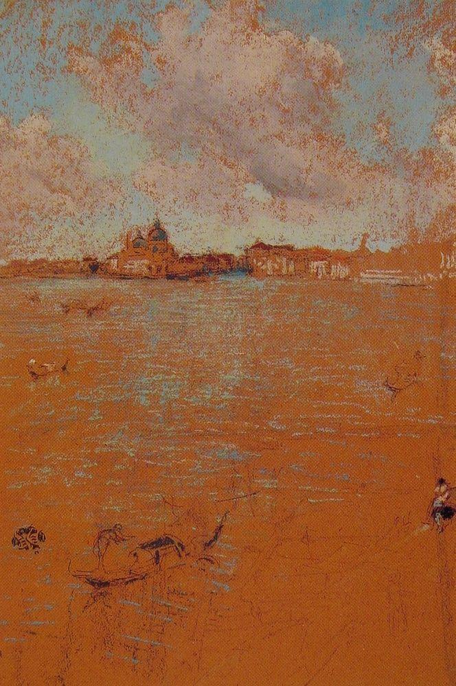 Venetian Scene by James Abbott McNeill Whistler