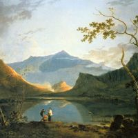 View of Snowdon from Llyn Nantlle by Richard Wilson