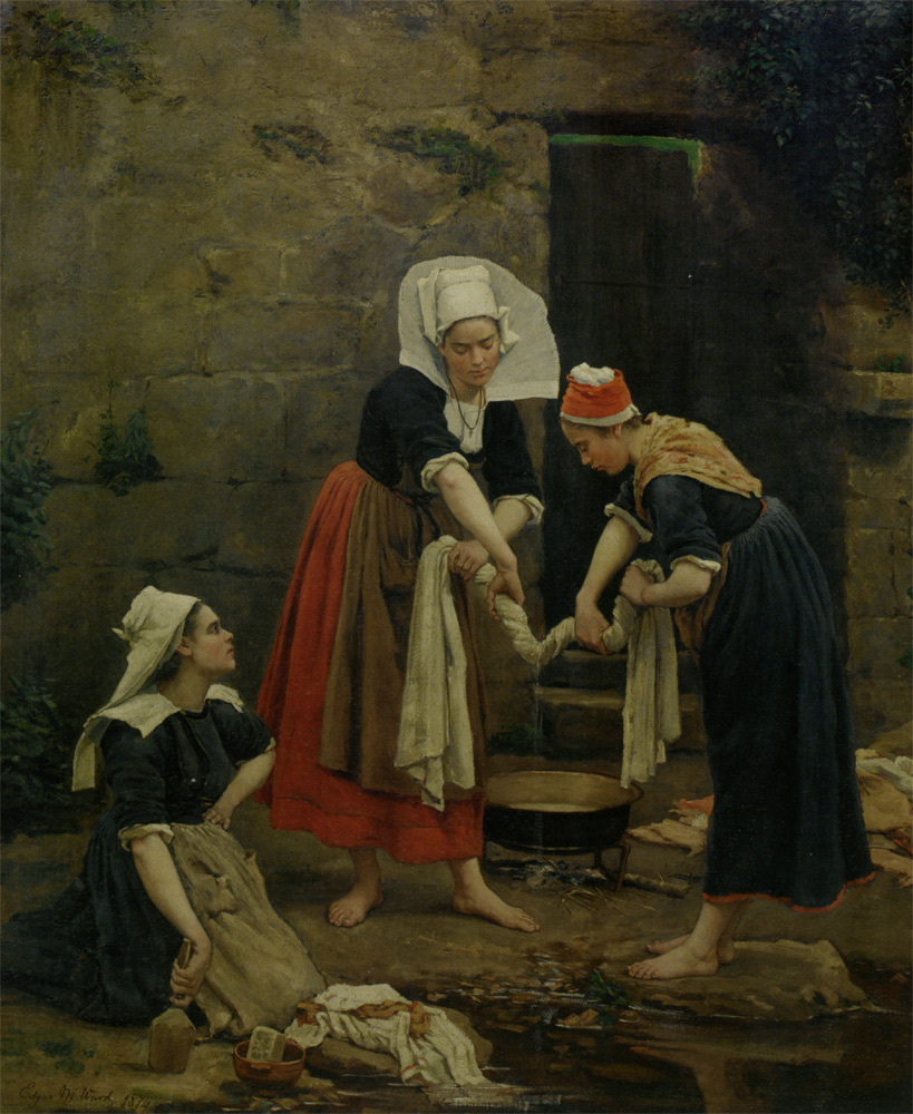 Washing Day by Edgar Melville Ward