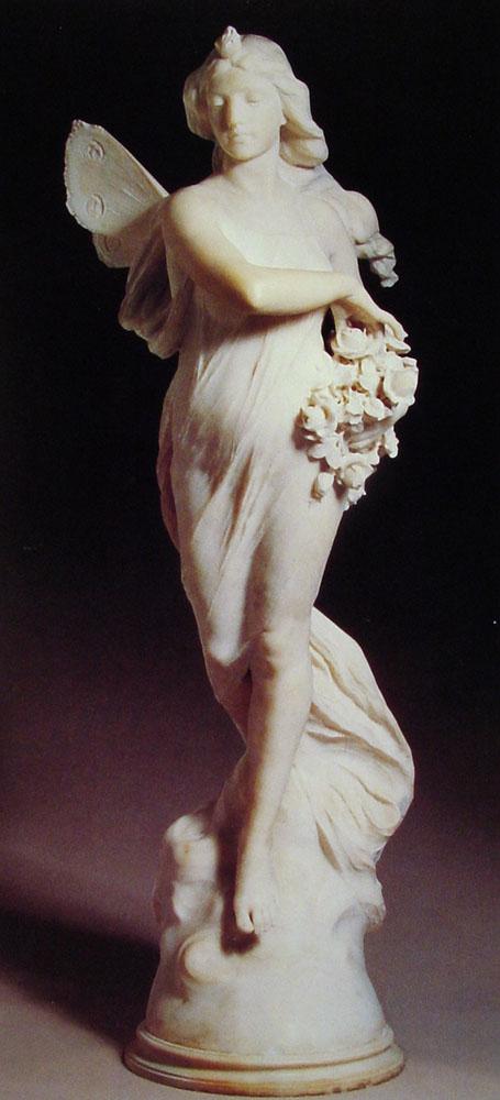 Winged Maiden by Ferdinando Vichi