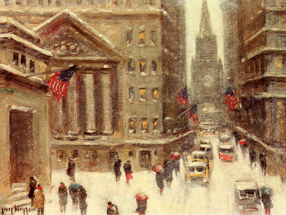 Winter New York by Guy Carleton Wiggins