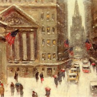 Winter, New York by Guy Carleton Wiggins